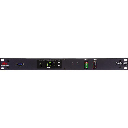 dbx 220i 2X2 Loudspeaker Management System with Display-thumbnail