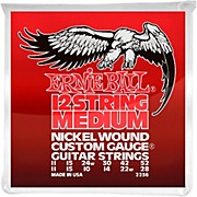 Ernie Ball 2236 Nickel 12-String Medium Electric Guitar Strings