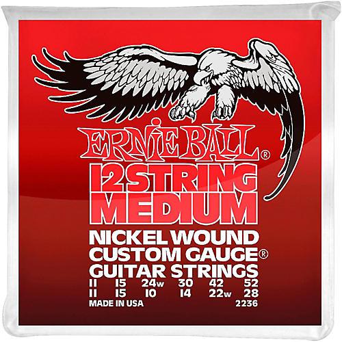 Ernie Ball 2236 Nickel 12-String Medium Electric Guitar Strings-thumbnail