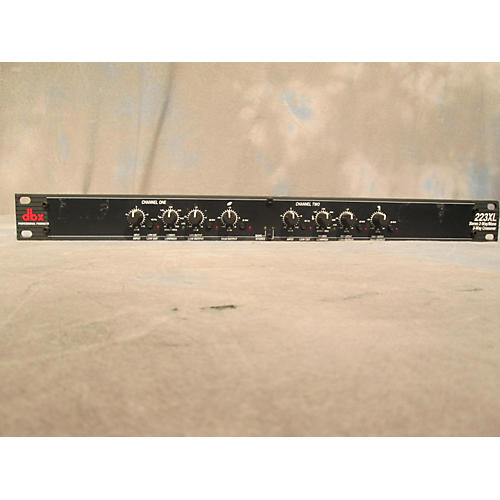 dbx 223XL Stereo 2-Way/Mono 3-Way Crossover-thumbnail