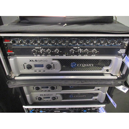 dbx 223XL Stereo 2-Way/Mono 3-Way Crossover-thumbnail