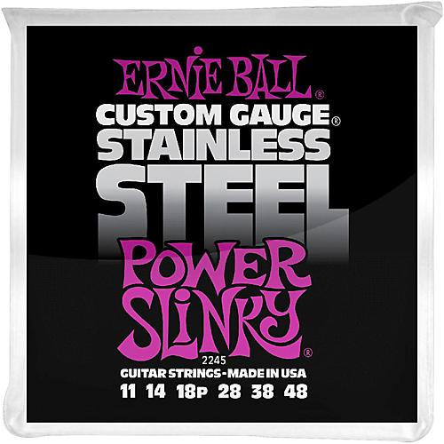 Ernie Ball 2245 Stainless Steel Power Slinky Strings-thumbnail