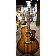 Taylor 224ce Koa Deluxe Acoustic Electric Guitar
