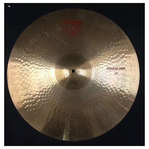 Paiste 22in 2002 POWER RIDE Cymbal