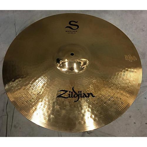 used zildjian 22in 22 s rock ride cymbal guitar center. Black Bedroom Furniture Sets. Home Design Ideas