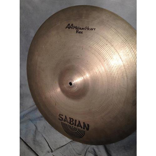 Sabian 22in AA Medium Heavy Ride Cymbal
