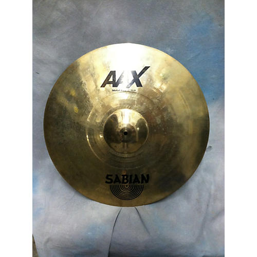 Sabian 22in AAX Metal Ride Brilliant Cymbal-thumbnail