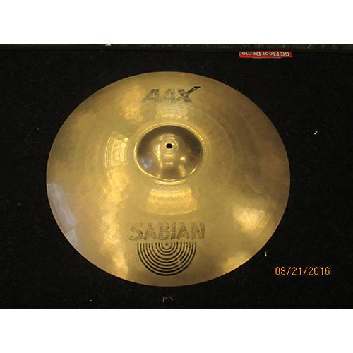 Sabian 22in AAX Metal Ride Brilliant Cymbal