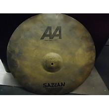 Sabian 22in AAX Raw Ride Cymbal