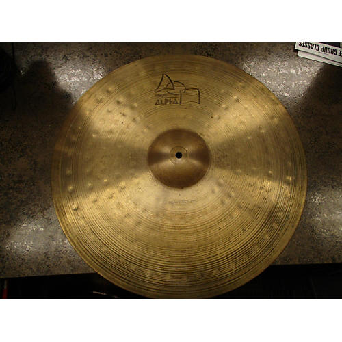 Paiste 22in Alpha Heavy Cymbal-thumbnail