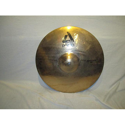 Paiste 22in Alpha Rock Ride Brilliant Cymbal-thumbnail