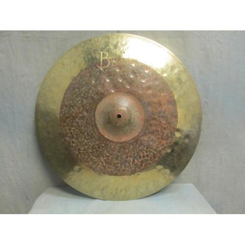 Meinl 22in BYZANCE DUAL CRASH RIDE Cymbal