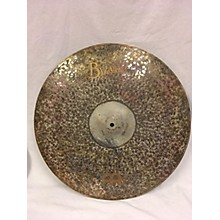 Meinl 22in Byzance Extra Dry Medium Ride Cymbal