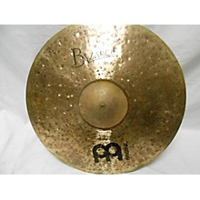 Meinl 22in Byzance Raw Bell Ride Cymbal