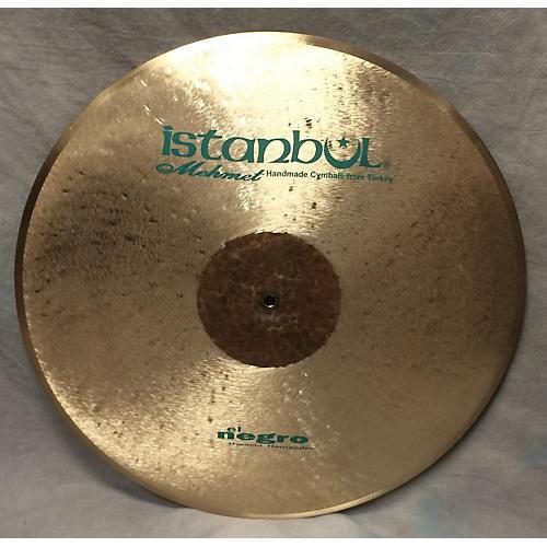 Istanbul Mehmet 22in El Negro Flat Ride Cymbal-thumbnail