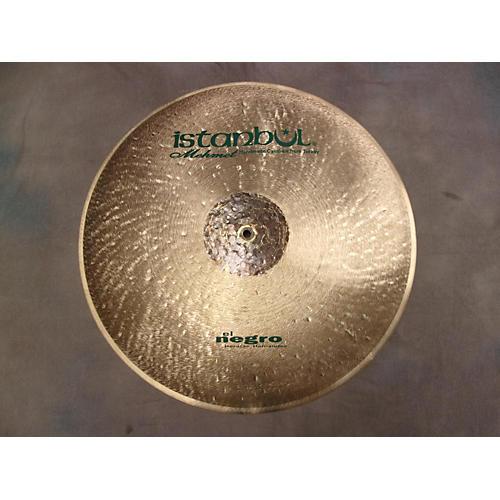Istanbul Mehmet 22in El Negro Flatride Cymbal-thumbnail