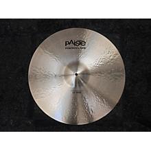 Paiste 22in Formula 602 Modern Essentials Cymbal