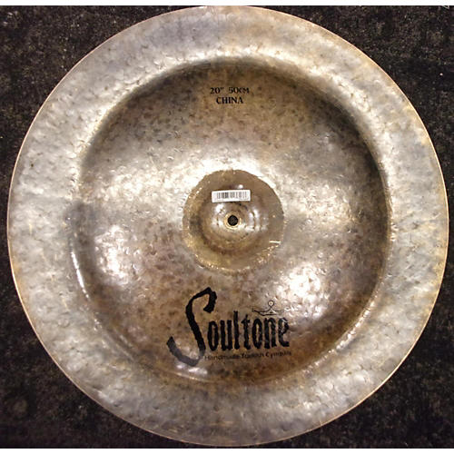 Soultone 22in NEW Heavy Hammered Crash Ride Cymbal-thumbnail