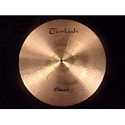 Turkish 22in ORIGINAL CLASSIC RIDE Cymbal