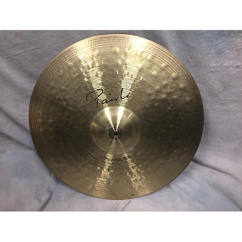 Paiste 22in Signature Dry Heavy Ride Cymbal