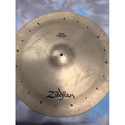 Zildjian 22in Swish Knocker With Rivets Cymbal
