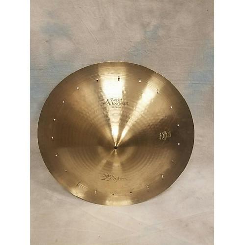 Zildjian 22in Swish Knocker With Rivets Cymbal-thumbnail