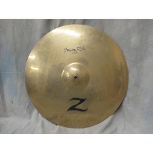 Zildjian 22in Z Custom Ride Cymbal-thumbnail