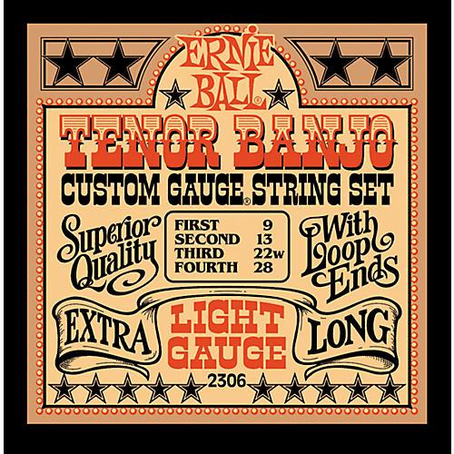 Ernie Ball 2306 Light Gauge Tenor Banjo Strings