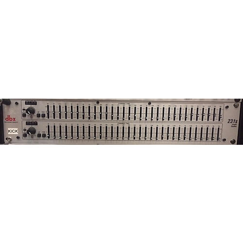 dbx 231s Dual Channel 31-Band Graphic Equalizer-thumbnail