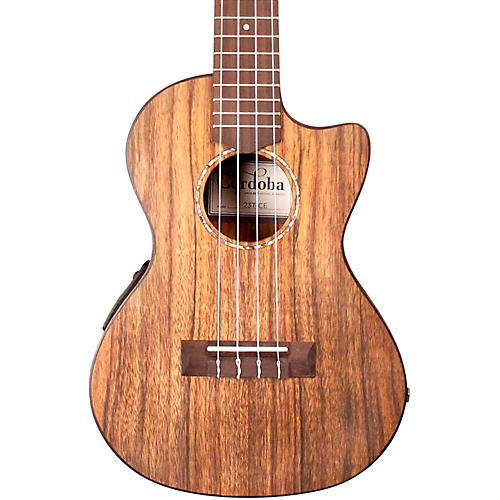Cordoba 23T-CE Tenor Acoustic-Electric Ukulele-thumbnail