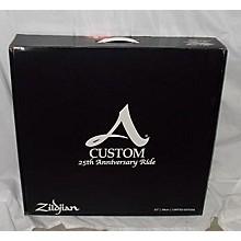 Zildjian 23in A Custom 25th Anniversary Ride Cymbal