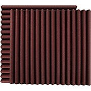 "24"" Acoustic Panel - Wedge, Burgundy (UA-WPW-24)"
