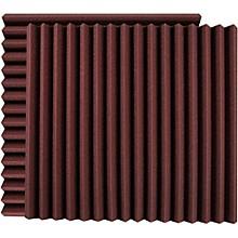 """Ultimate Acoustics 24"""" Acoustic Panel - Wedge, Burgundy (UA-WPW-24)"""
