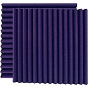 "24"" Acoustic Panel - Wedge, Purple (UA-WPW-24)"
