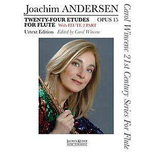 Lauren Keiser Music Publishing 24 Etudes for Flute, Op. 15 LKM Music Series by Lauren Keiser Music Publishing