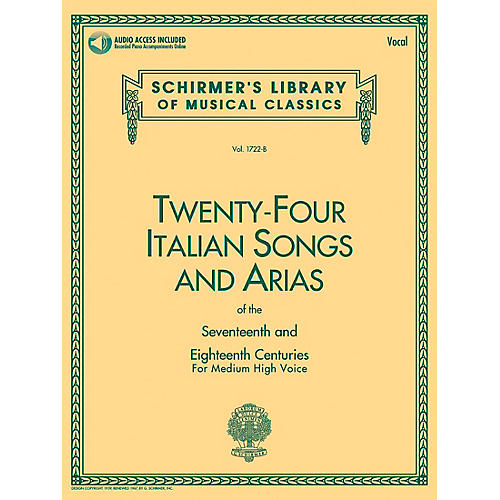 Hal Leonard 24 Italian Songs and Arias of the 17th and 18th Centuries