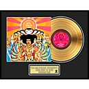 24 Kt. Gold Records Jimi Hendrix - Axis: Bold As Love Gold LP Limited Edition of 2500 (AAJN035)