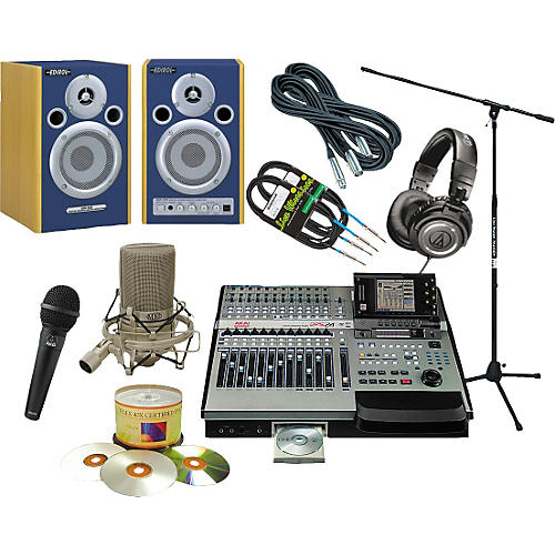 Akai Professional 24-Track Studio All-In-One Package-thumbnail