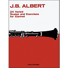 Carl Fischer 24 Varied Scales And Exercises For Clarinet