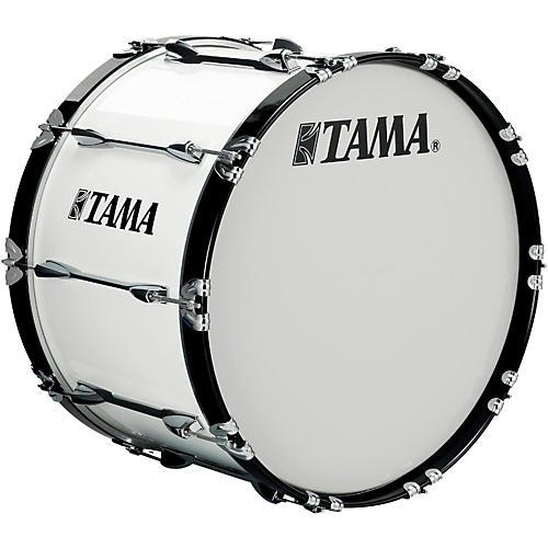 Tama Marching 24 x 14 in. Starlight Marching Bass Drum Sugar White