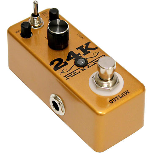 Outlaw Effects 24K Guitar Reverb Pedal-thumbnail