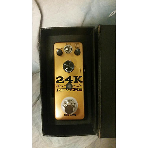 In Store Used 24K Reverb Effect Pedal
