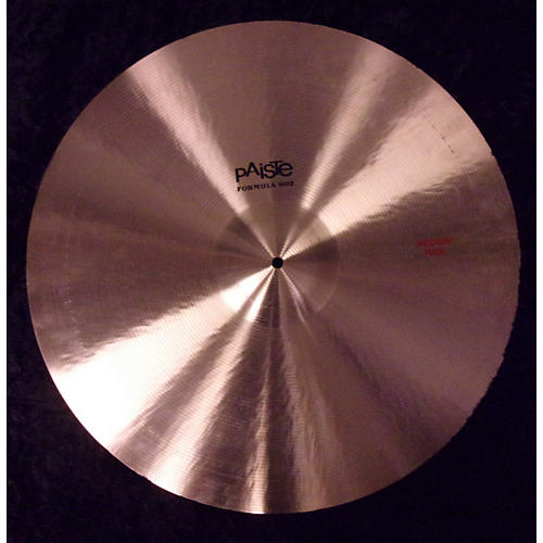 Paiste 24in Formula 602 Medium Ride Cymbal-thumbnail