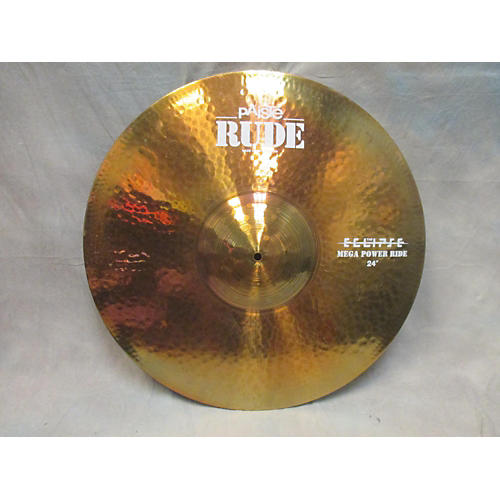 Paiste 24in Rude Eclipse Mega Power Ride Cymbal