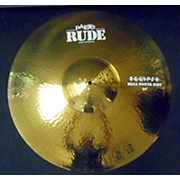 Paiste 24in Rude Mega Power Ride Cymbal