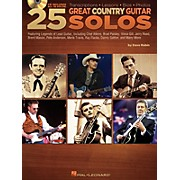 Hal Leonard 25 Great Country Guitar Solos (Book/CD)