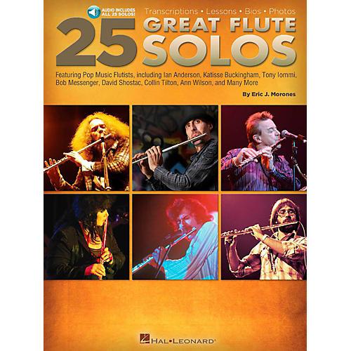 Hal Leonard 25 Great Flute Solos Book/Audio Online-thumbnail