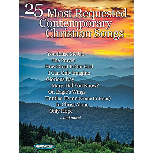 Word Music 25 Most Requested Contemporary Christian Songs-thumbnail