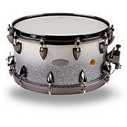25-Ply Maple Vented Snare Drum 14 x 7 in. Silver Sparkle Fade