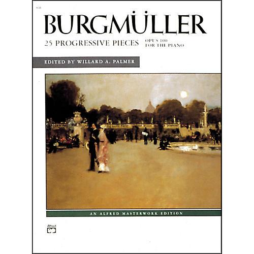 Alfred 25 Progressive Pieces Op. 100 Early Intermediate/Late Intermediate Piano-thumbnail